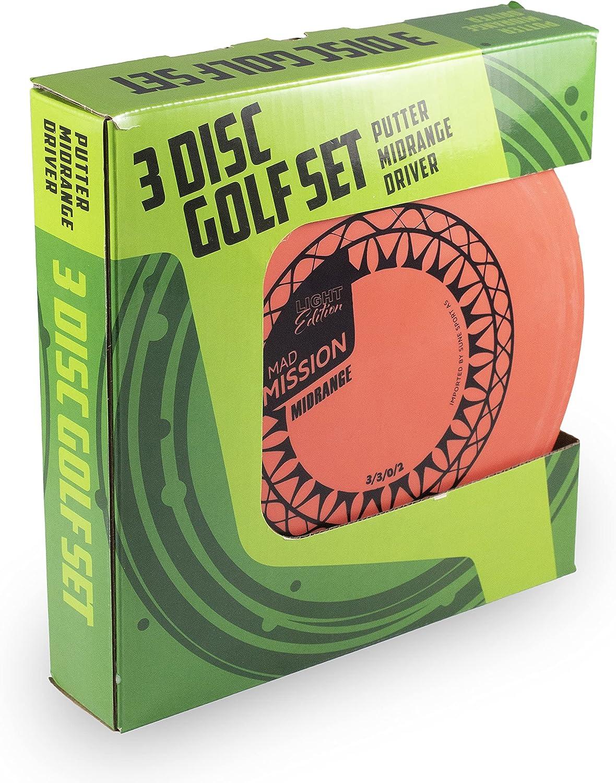 Sune Sport 3 Disc Golf Set bundle