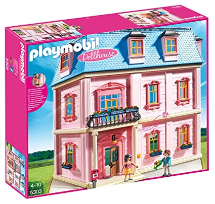 Amazon Com Playmobil Deluxe Dollhouse Toys Games