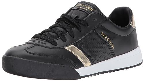 5675aa61f3f0 Skechers Women s Zinger-Flicker Trainers  Amazon.co.uk  Shoes   Bags