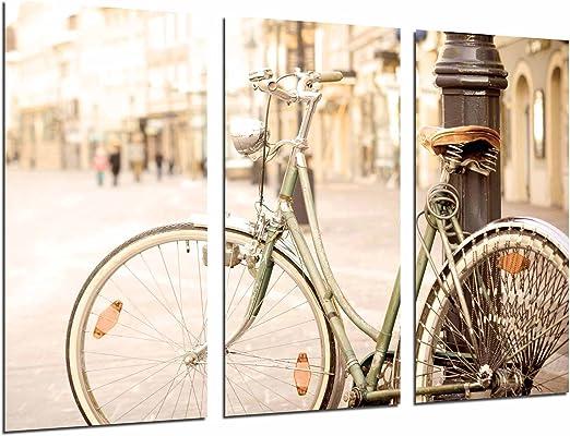 Cuadro Fotográfico Bicicleta vintage, Bicicleta de Paseo Tamaño ...