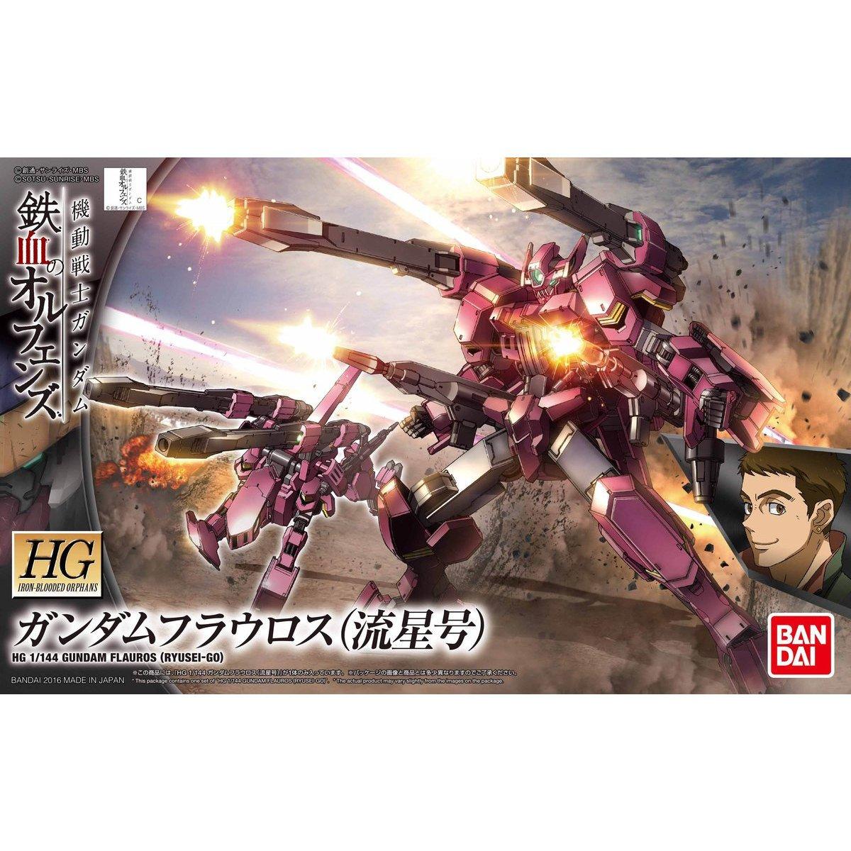 Escala 1//144 Bandai Hobby IBO HG Gundam flauros Kit de construcci/ón IBO 2/ª Temporada
