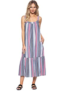 e910eff480 Amazon.com  Tavik Women s Tara Midi Dress  Clothing