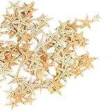 """Ogrmar Small Starfish Star Sea Shell Beach Craft 0.4""""-1.2"""" 90 Pcs"""