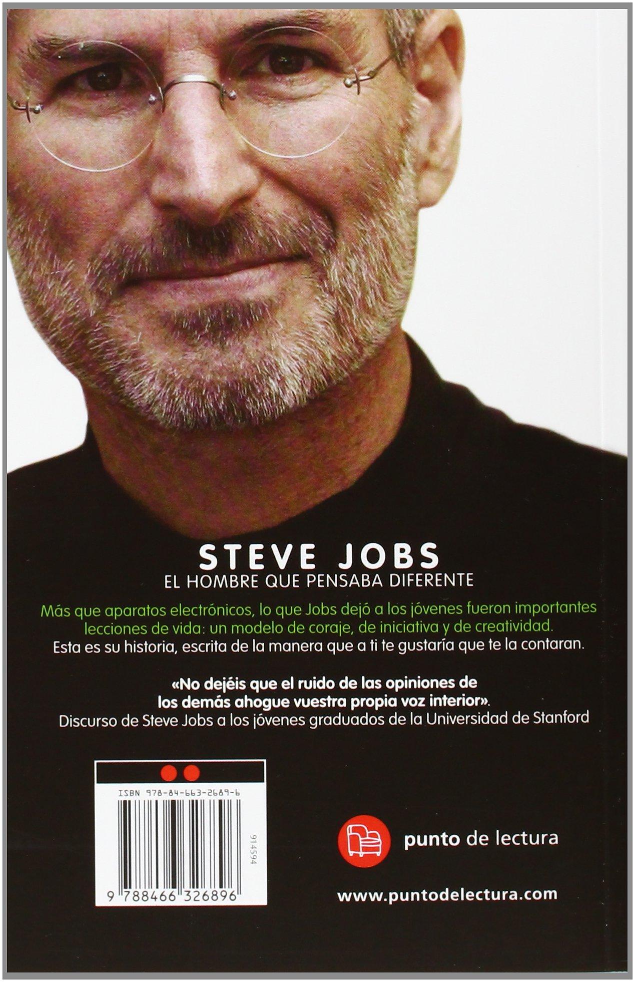 Steve jobs el hombre que pensaba diferente bolsillo formato grande amazon es karen blumenthal libros
