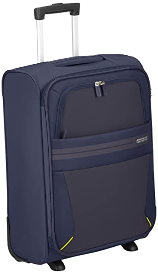American Tourister Summer Voyager Upright Equipaje de Mano, 55 cm, 38.5 litros, Color Azul: Amazon.es: Equipaje
