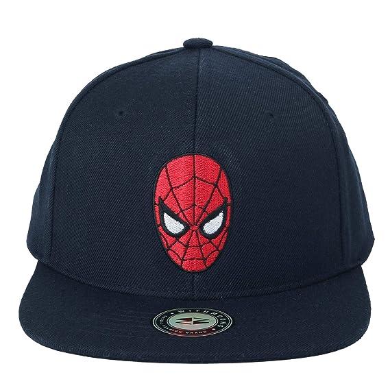 WITHMOONS Gorras de béisbol Gorra de Trucker Sombrero de Marvel Avengers Infinity War Spider Man Baseball Cap HL21114 (Navy): Amazon.es: Ropa y accesorios