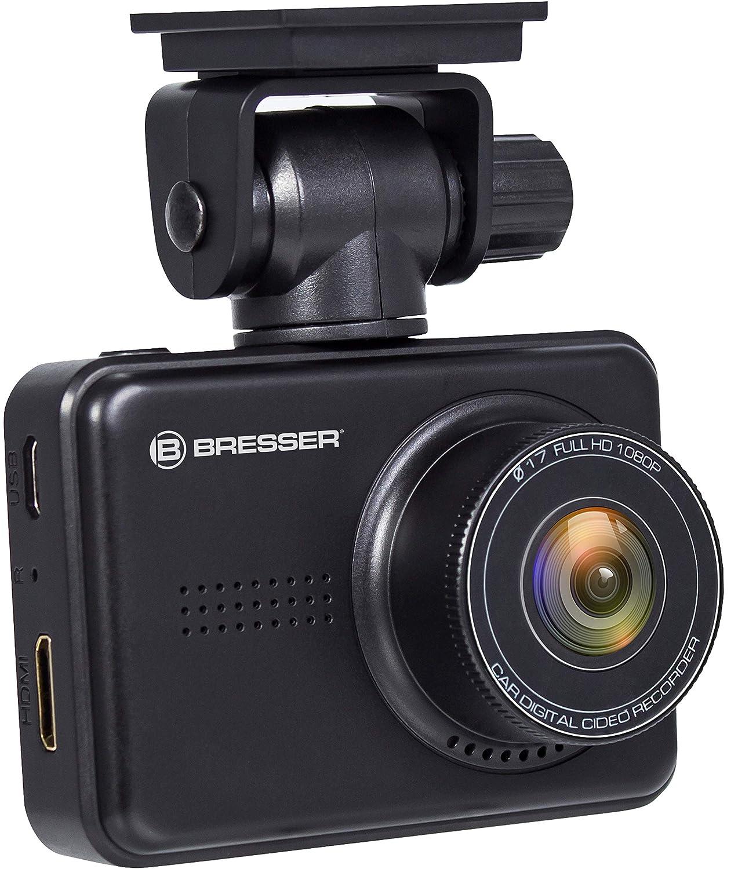BresserフルHDダッシュボードカーカメラダッシュカメラ3MPカメラ付きデイ/ナイトビジョン140度+ Gセンサー+   B07D35GMF2