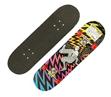 514091 Skateboard deportivo STREET JUMPER truck de aluminio 78x20cm ruedas 50 mm - Violeta: Amazon.es: Deportes y aire libre