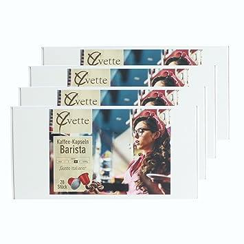 Yvette cápsulas de café Barista, Cápsulas de Café, compatible con Nespresso, Café, 112 Cápsulas, De 5.5 G: Amazon.es: Hogar