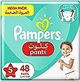 Pampers Pants, Size 5, Junior, 12-18 kg, Mega Pack, 48 Diapers