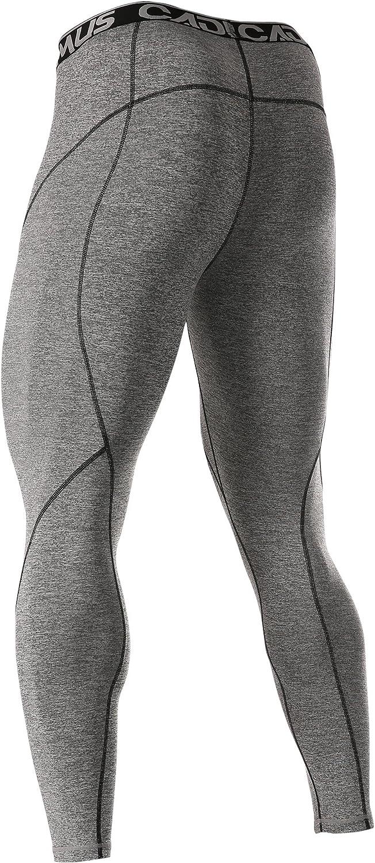 Cadmus Mens Compression Pants Workout Tight Leggings
