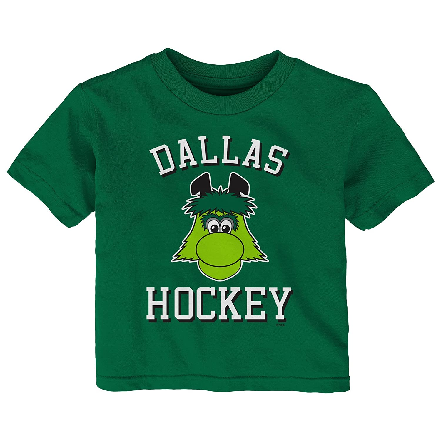 【お気にいる】 (Dallas Stars, 12 Months, Short Kelly Green) - Sleeve Stars, NHL unisex-child