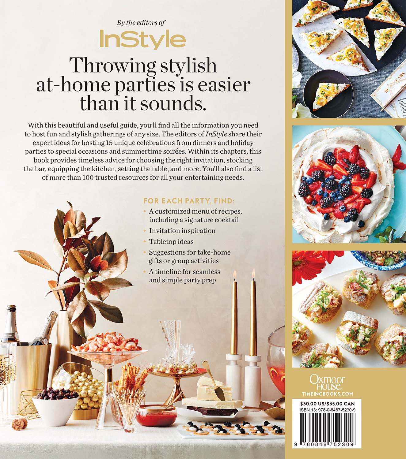 InStyle Parties: The Complete Guide to Easy, Elegant Entertaining ...