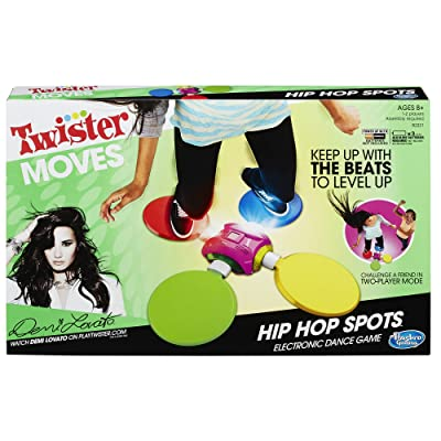 Hasbro Games Twister Moves Hip Hop Spots: Toys & Games
