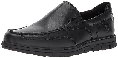 93acd01356 Timberland Men's Huntington Drive Slip-On Loafer, Black Full Grain, ...
