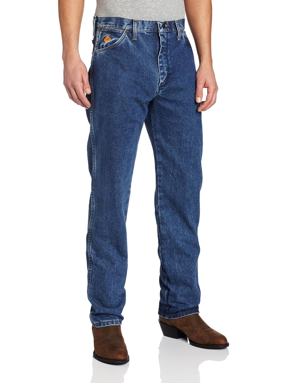 Wrangler Men's Tall Original Fit Flame Resistant Jean