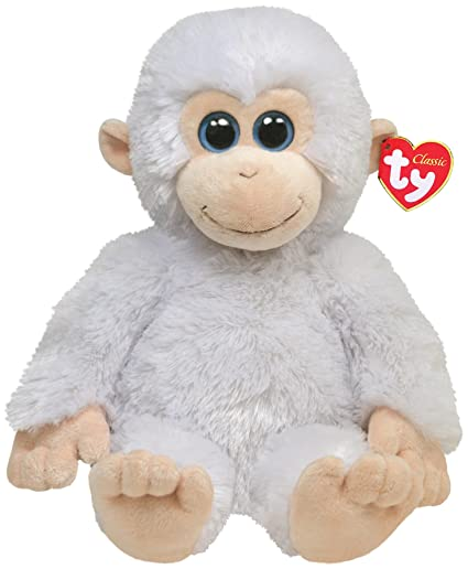 Image Unavailable. Image not available for. Color  Ty Classic Plush Ivory -  White Monkey 1f9a61dd097