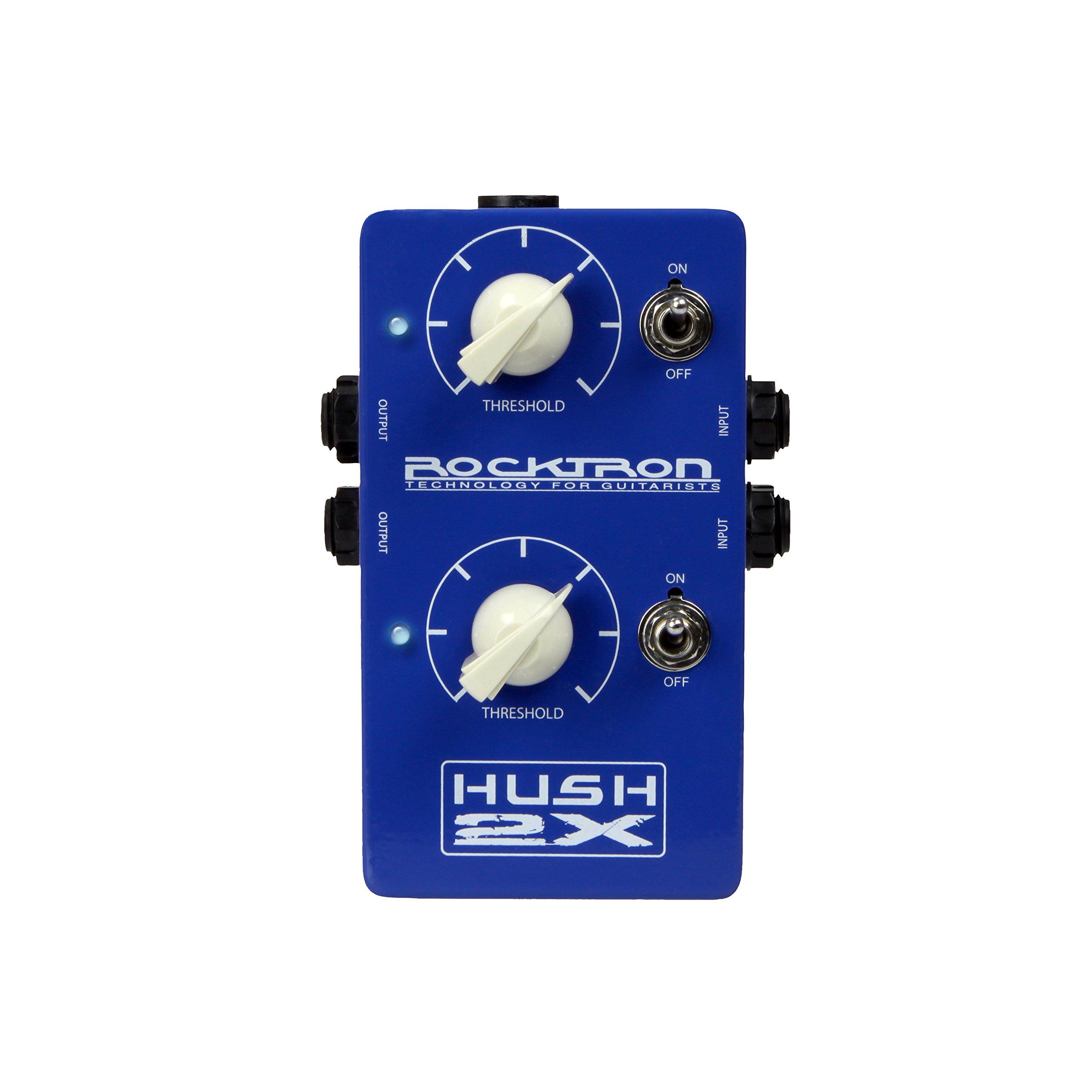 Rocktron HUSH 2X Guitar Noise Reduction Pedal