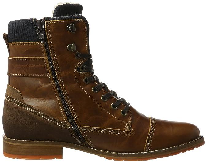BULLBOXER Herren 5850A Klassische Stiefel, Braun (Cognac