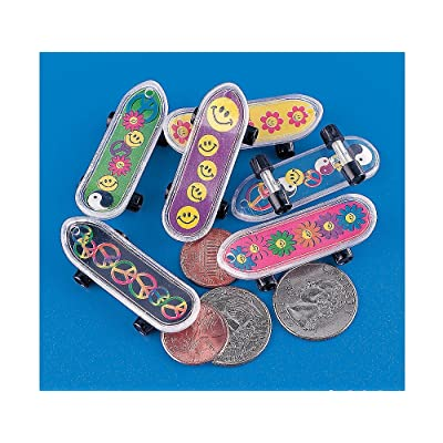 MINI 60'S SKATEBOARDS (3DZ) - Toys - 36 Pieces: Health & Personal Care