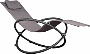 Vivere ORBL1-SA Outdoor Rocking Chair, Sienna