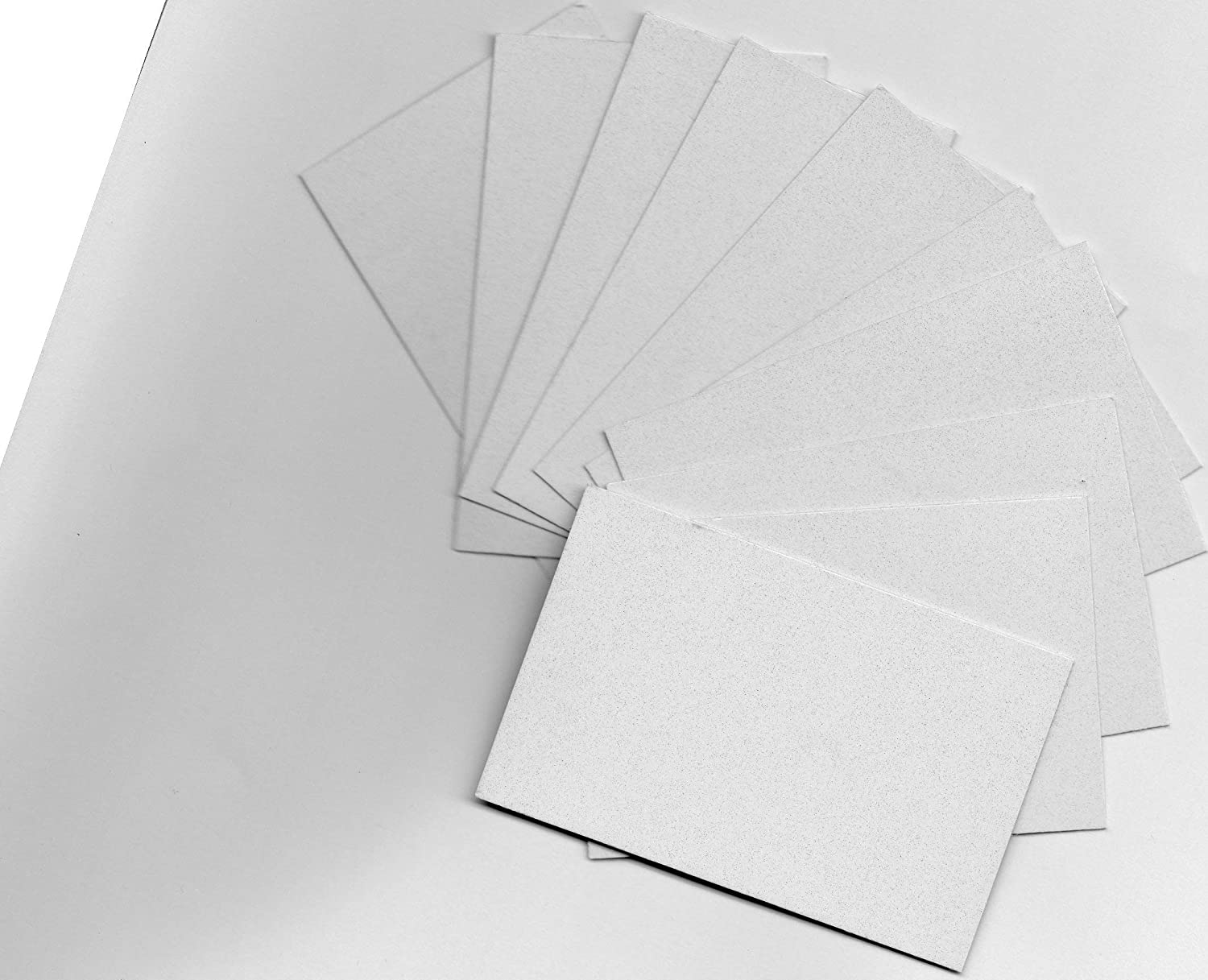 10 White Dye Sublimation Blank Aluminum Board Heat Transfer Steel Sheet Engraved 8 X 5 cm 3x2