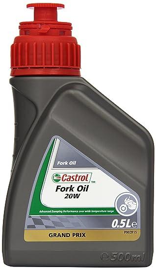 Castrol Fork Oil SAE - Aceite para motor, 20 W, botella de 500 ml