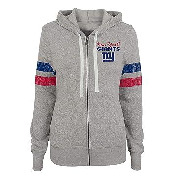buy popular 299b7 c1d66 Buy NFL York Giants Juniors Team Pride Full Zip Hoodie, Dark ...