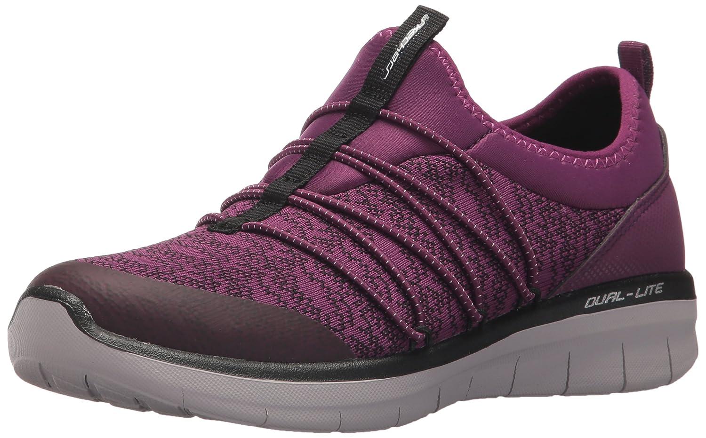 Skechers Sport Women's Synergy 2.0 Simply Chic Fashion Sneaker B01NCXQOFP 6.5 B(M) US Purple/Black