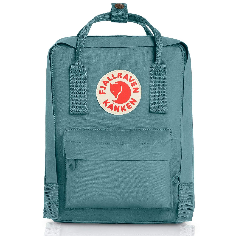 3e41dbb55 Fjallraven Kids' Kånken Mini Backpack, Sky Blue, 29 x 20 x 13 cm, 7 l:  Amazon.co.uk: Sports & Outdoors
