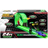 Max Traxxx Award Winning Gravity Drive Tracer Racers Ultimate Dual Loop Set with 2 Vehicles