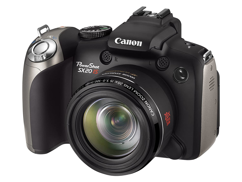 Canon PowerShot SX20 IS - Cámara Digital Compacta 12.1 MP: Amazon ...