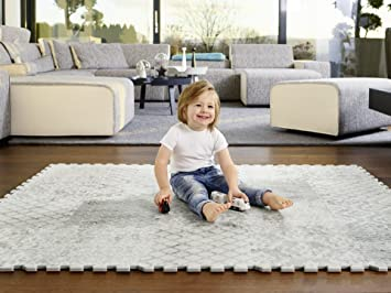 NEW Baby/'s Best Products Lux Series Extra Thick Non Toxic Play Mat SHIPS FREE