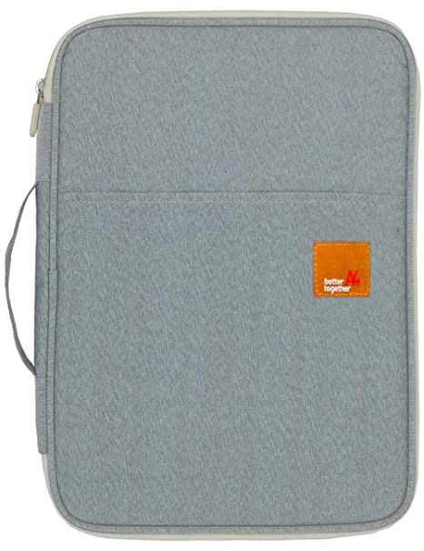 Mygreen Universal Travel Gear Organizer/Electronics Accessories Bag/Document File Bag (Large, Gray)