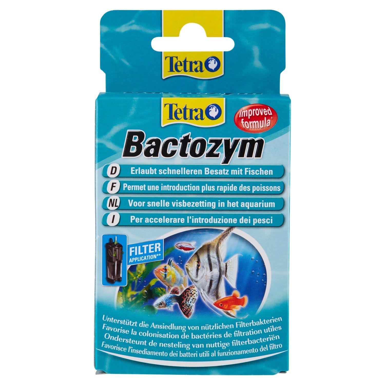Tetra Bactozym - Traitement accélérant la colonisation des Filtres - 10 gélules 4004218756540
