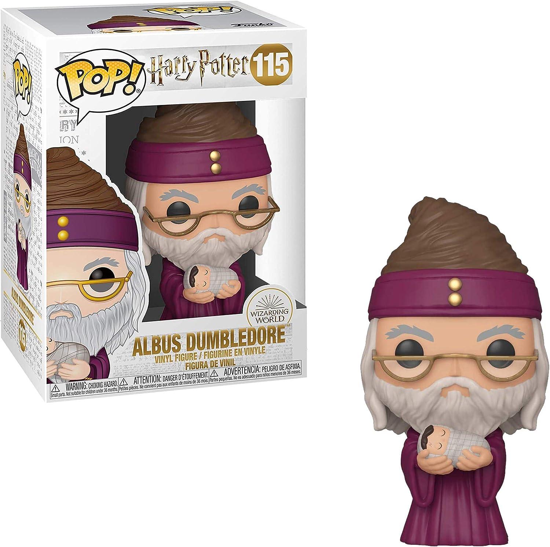 Funko Pop! Harry Potter: Harry Potter - Dumbledore w/Baby ...