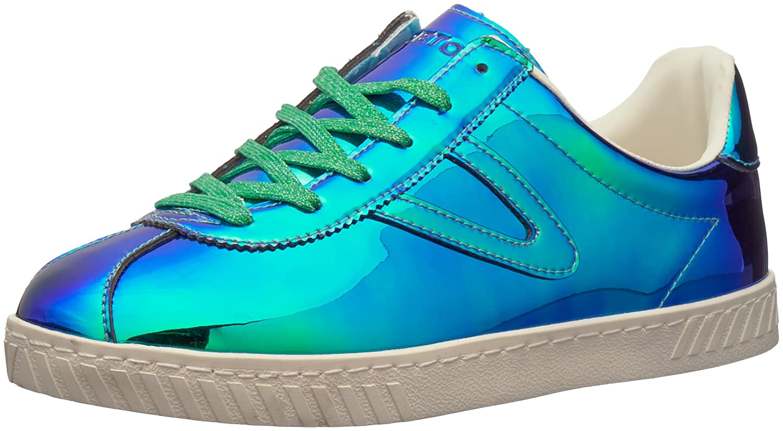 Tretorn Women's Camden5 Sneaker B079T7689P 10 B(M) US|Medium Blue