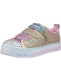 Skechers Girls Twinkle LITE-Mermaid Magic Sneakers