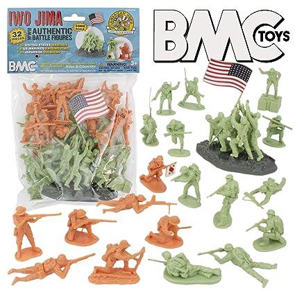 BMC WW2 Iwo Jima Plastic Army Men
