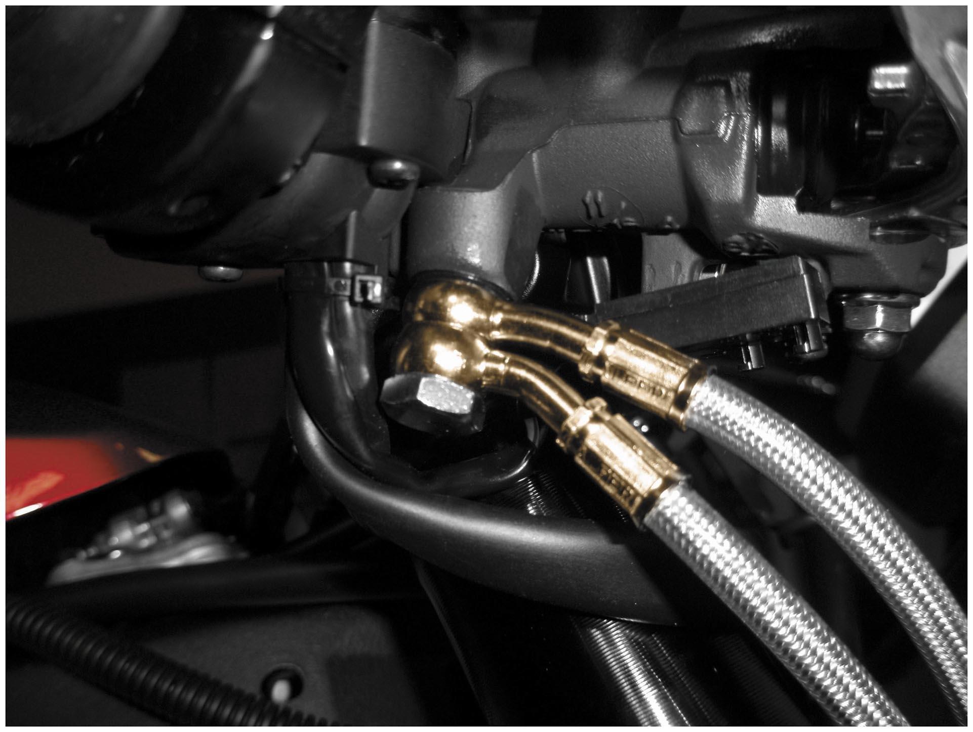 Galfer Brakes Sportbike Stainless Steel Hydraulic Brake Line FK003D327