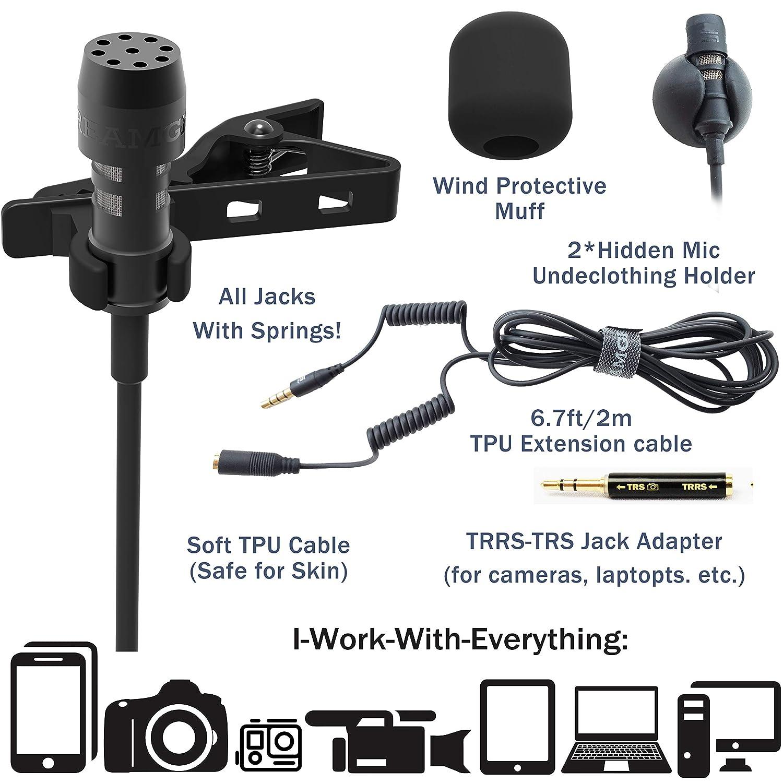 DREAMGRIP LAV (conector TRRS de 3,5 mm) compatible con iPhone ...