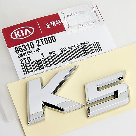 Kia Optima K5 tronco emblema – Cola puerta emblema original OEM parte por Mobis
