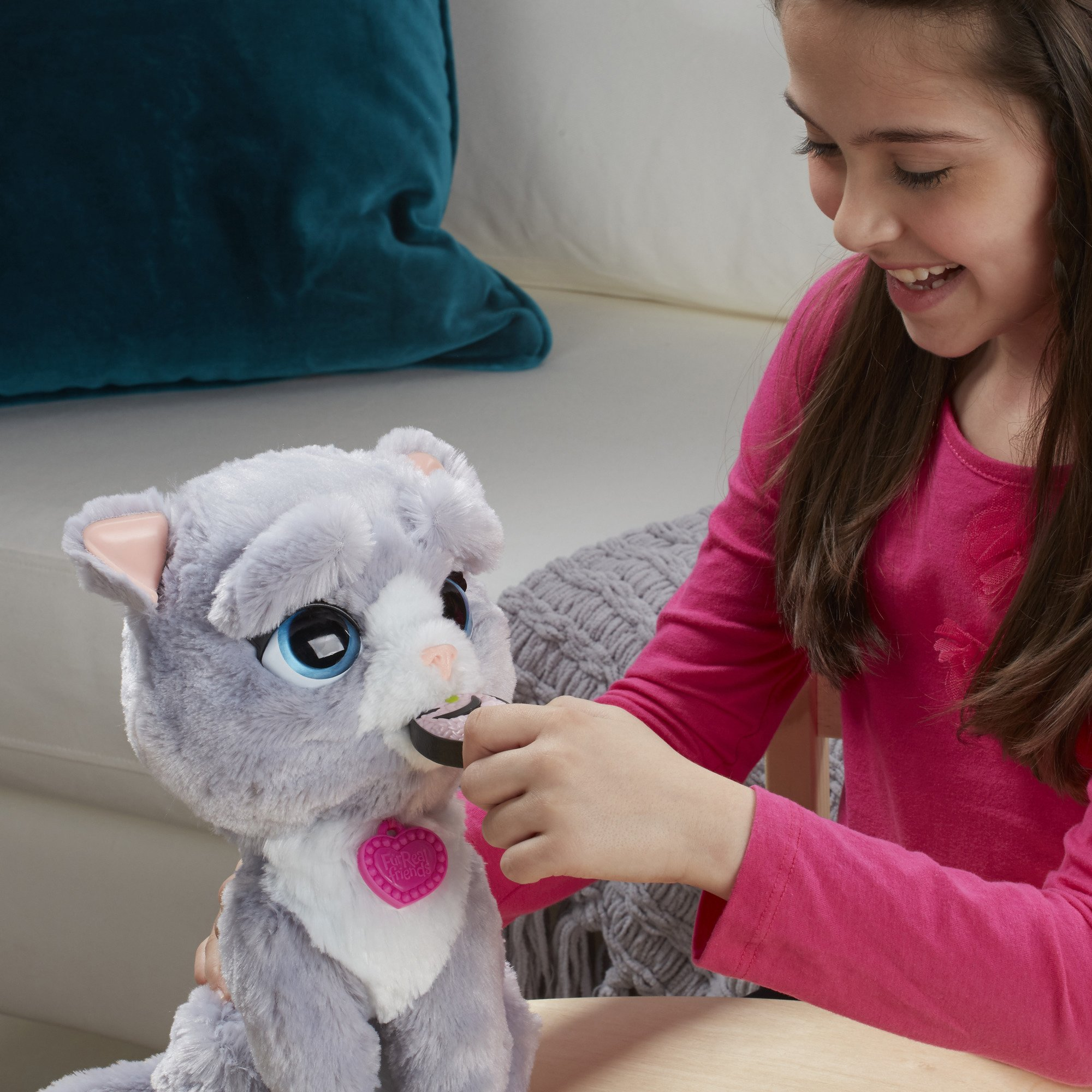 FurReal B5936AF1 Bootsie Interactive Plush Kitty Toy, Ages 4 & Up by FurReal (Image #12)