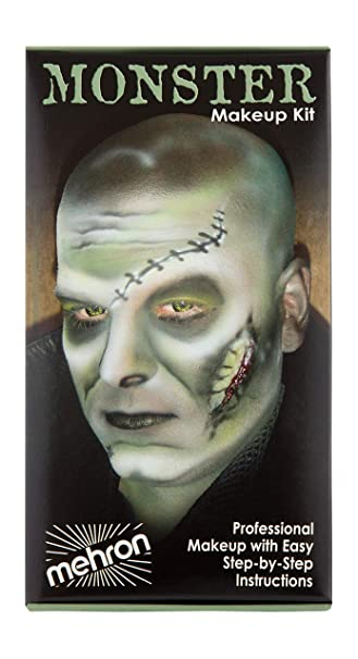 Mehron Makeup Premium Character Kit (Monster/Frankenstein)