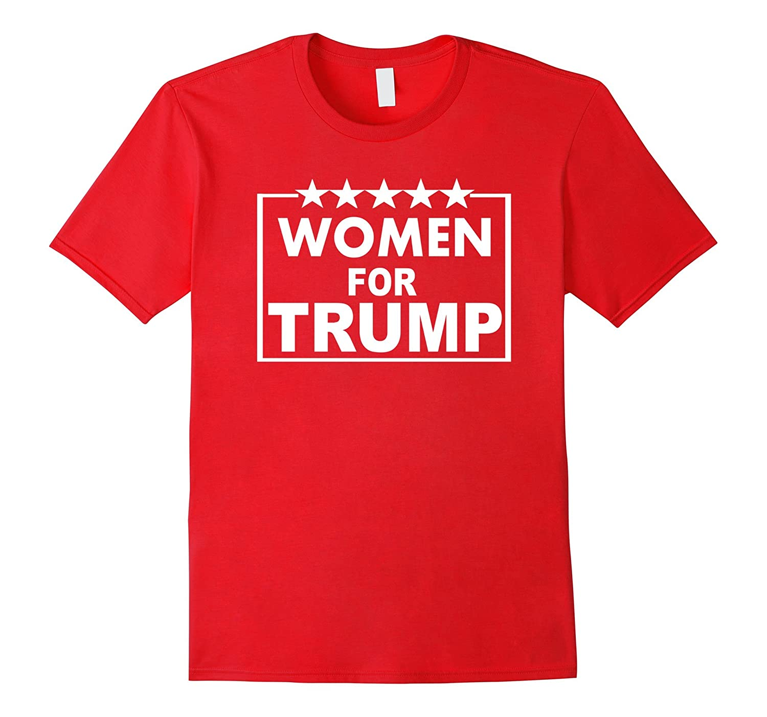 Women For Trump T-Shirt-RT