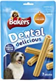 Bakers Dental Large Dog Food Delicious Chicken, 270 g - Pack of 6