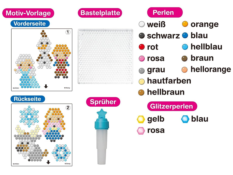 Aquabeads 79768 - Die Eiskönigin Figurenset, Bastelset für Kinder ...