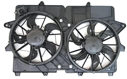 Depo 330-55061-000 Radiator/Air Conditioner Fan Assembly (FORD ESCPE HYBRID