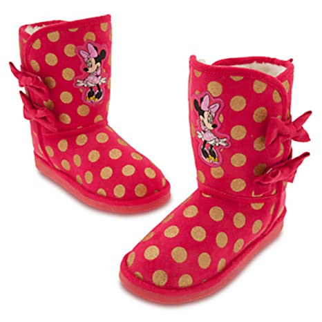 pretty cheap reasonable price most popular Disney Store Deluxe Minnie Mouse Winter Boots