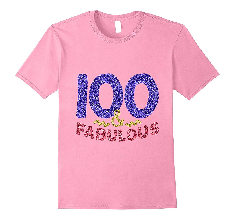 100th Birthday Shirt Funny 100 Year Old Gift Tee Men Women FL